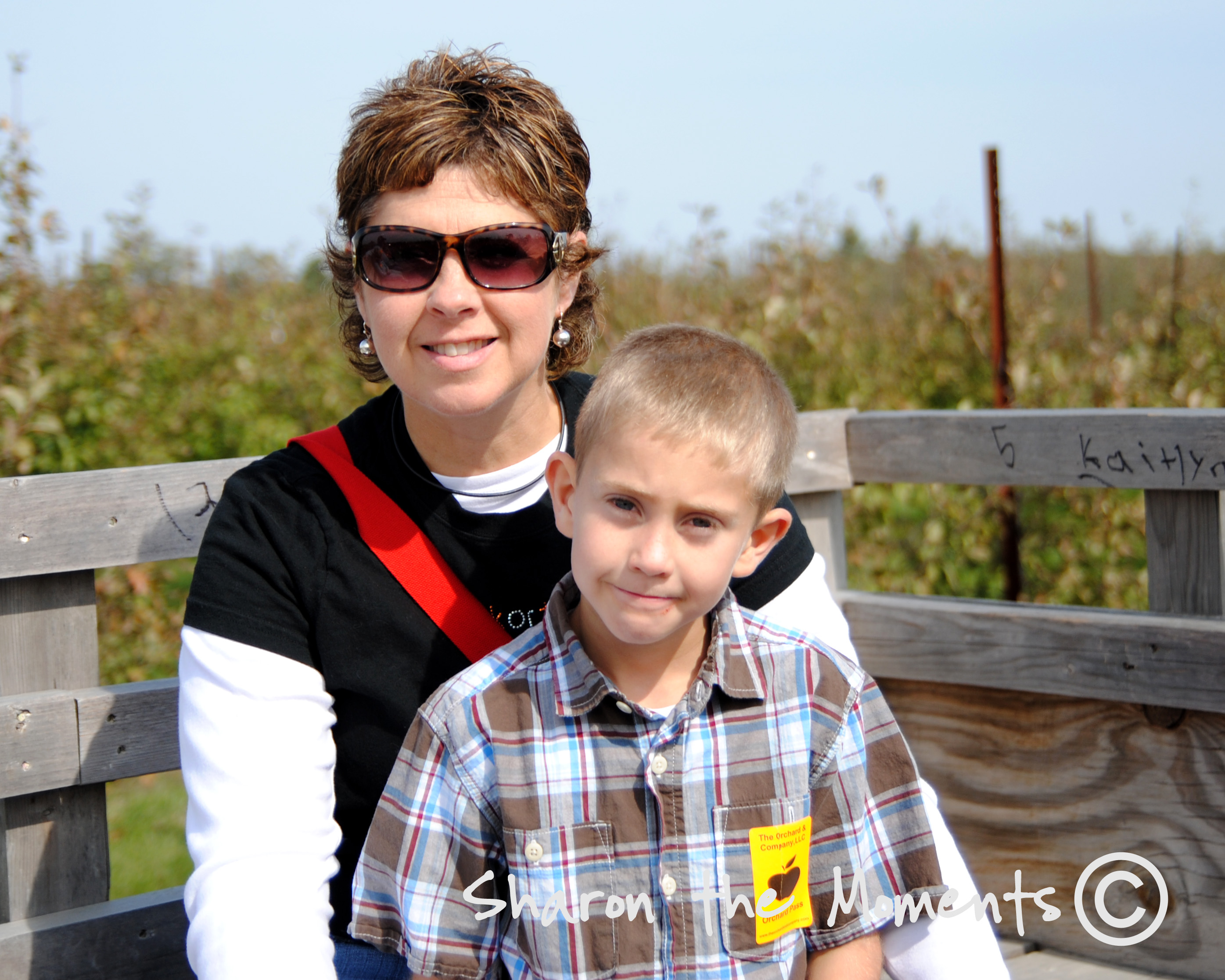 Hay ride at Orchard and company|Sharon the Moments blog