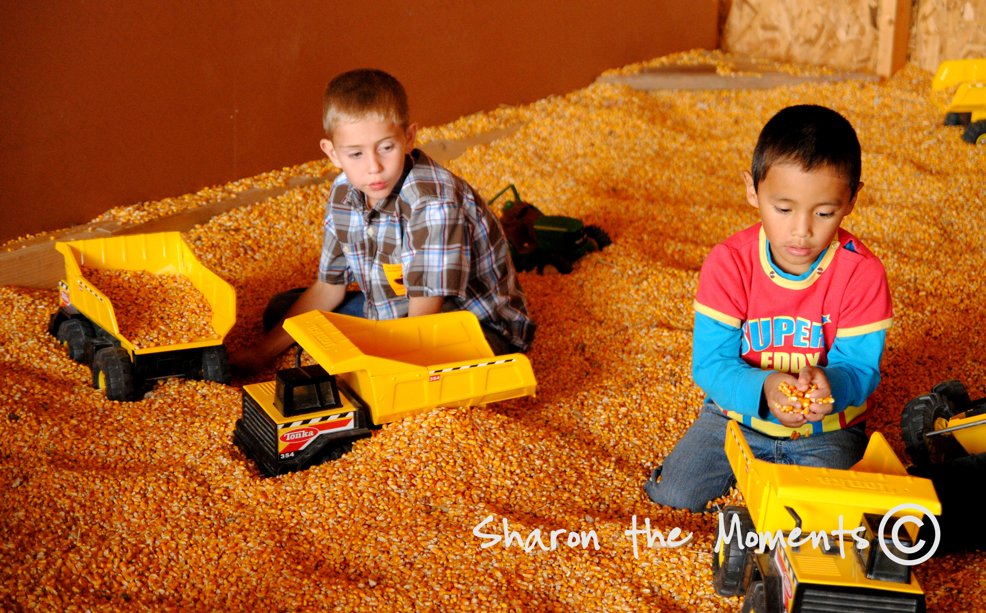 Corn pit at Orchard and Company|Sharon the Moments blog