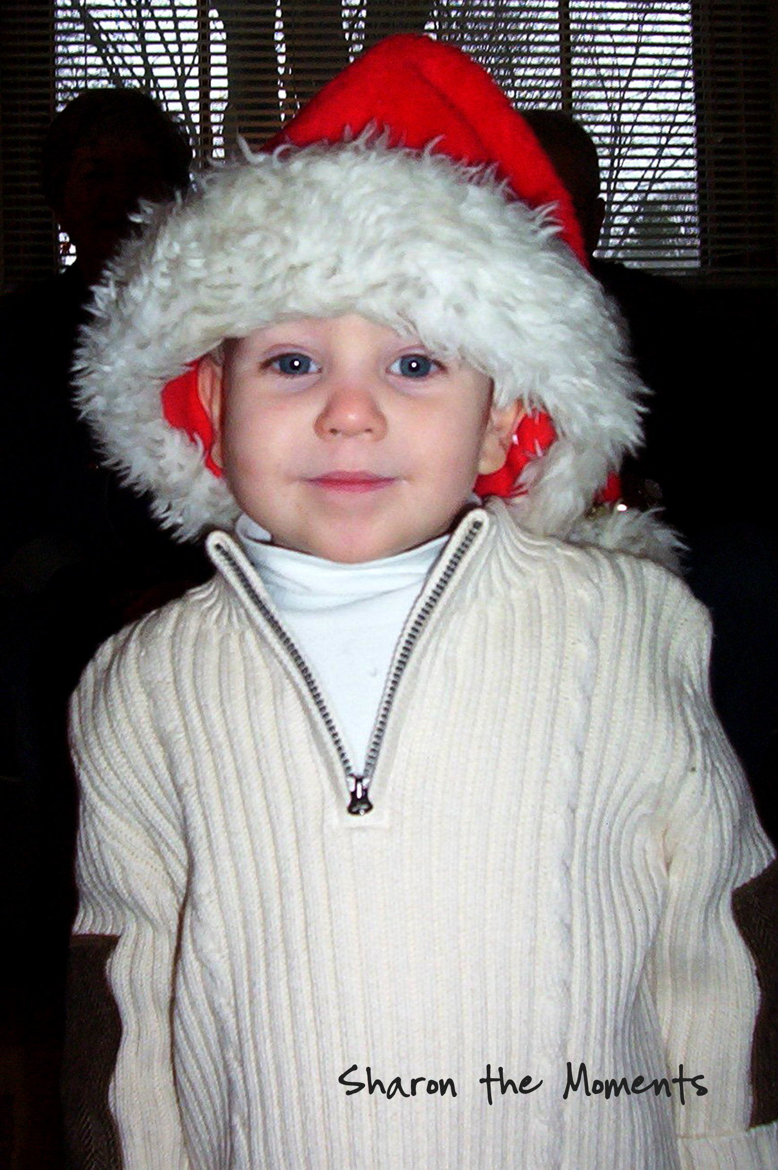 Christmas Past kiddo Circa 2006|Sharon the Moments blog