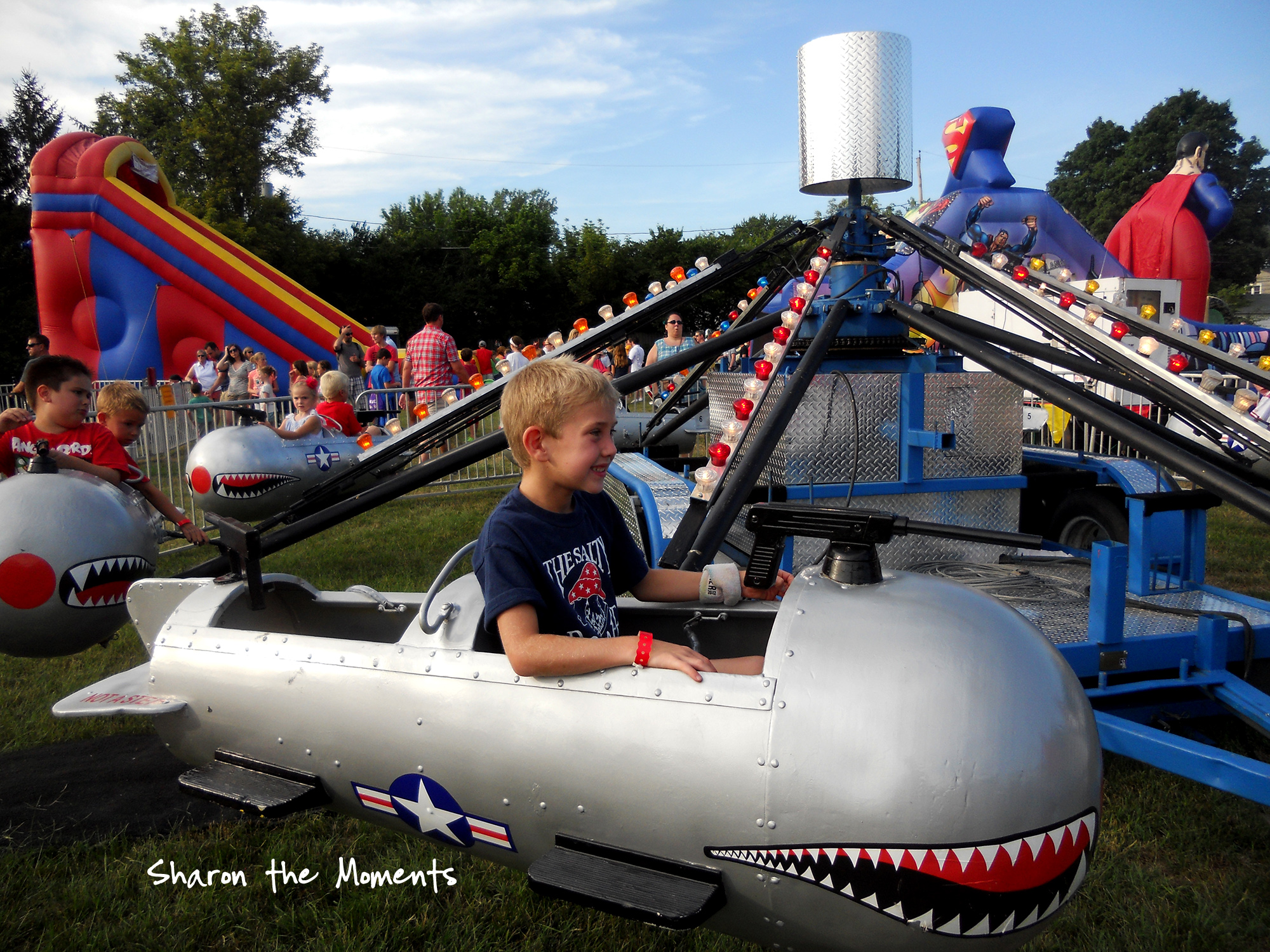 Hot Summer Day Enjoying a Flying Creature at School Festival|Sharon the Moments blog
