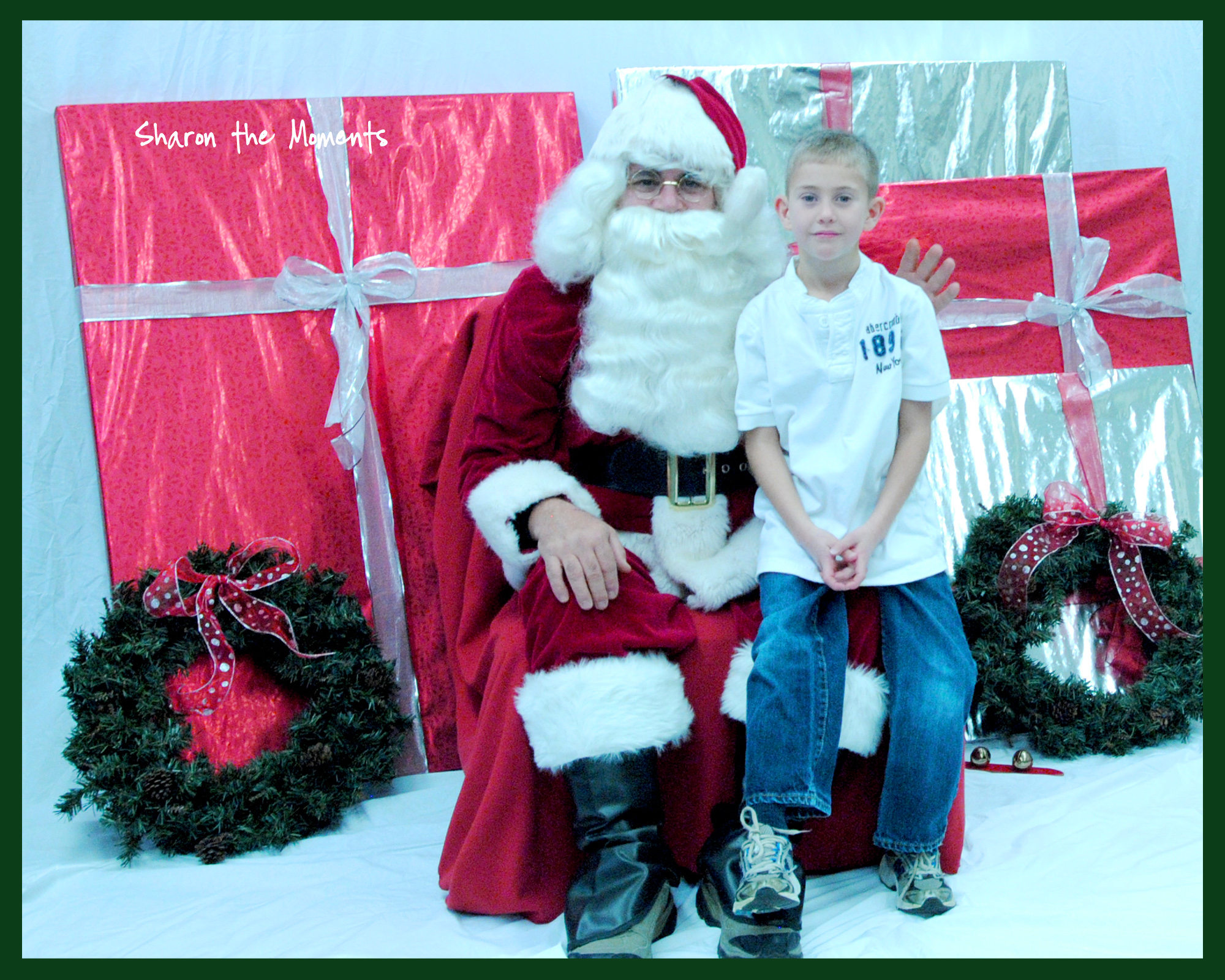 Talking to Santa Claus|Sharon the Moments blog
