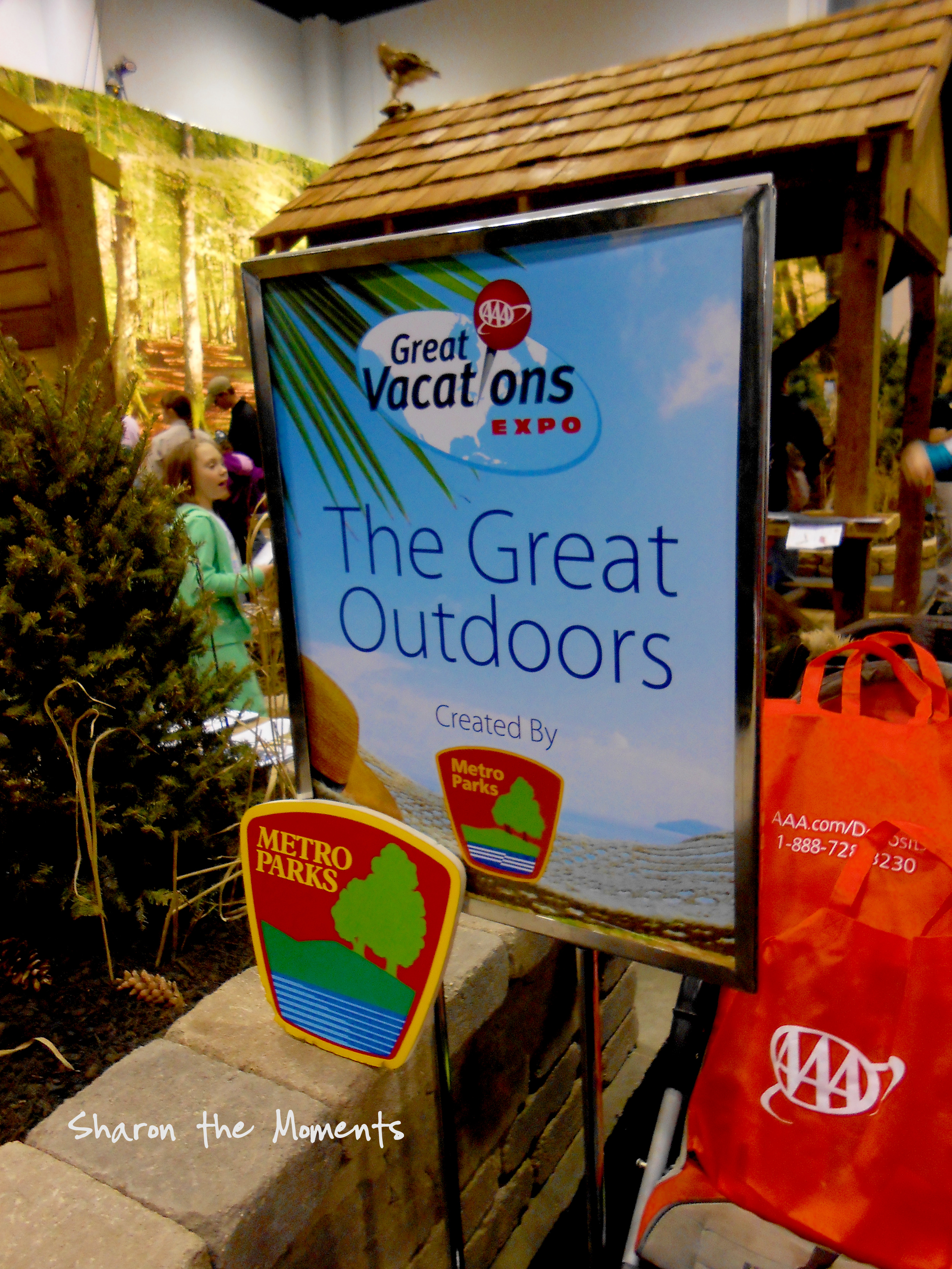 The AAA Vacation & Travel Expo Metro Parks|Sharon the Moments blog
