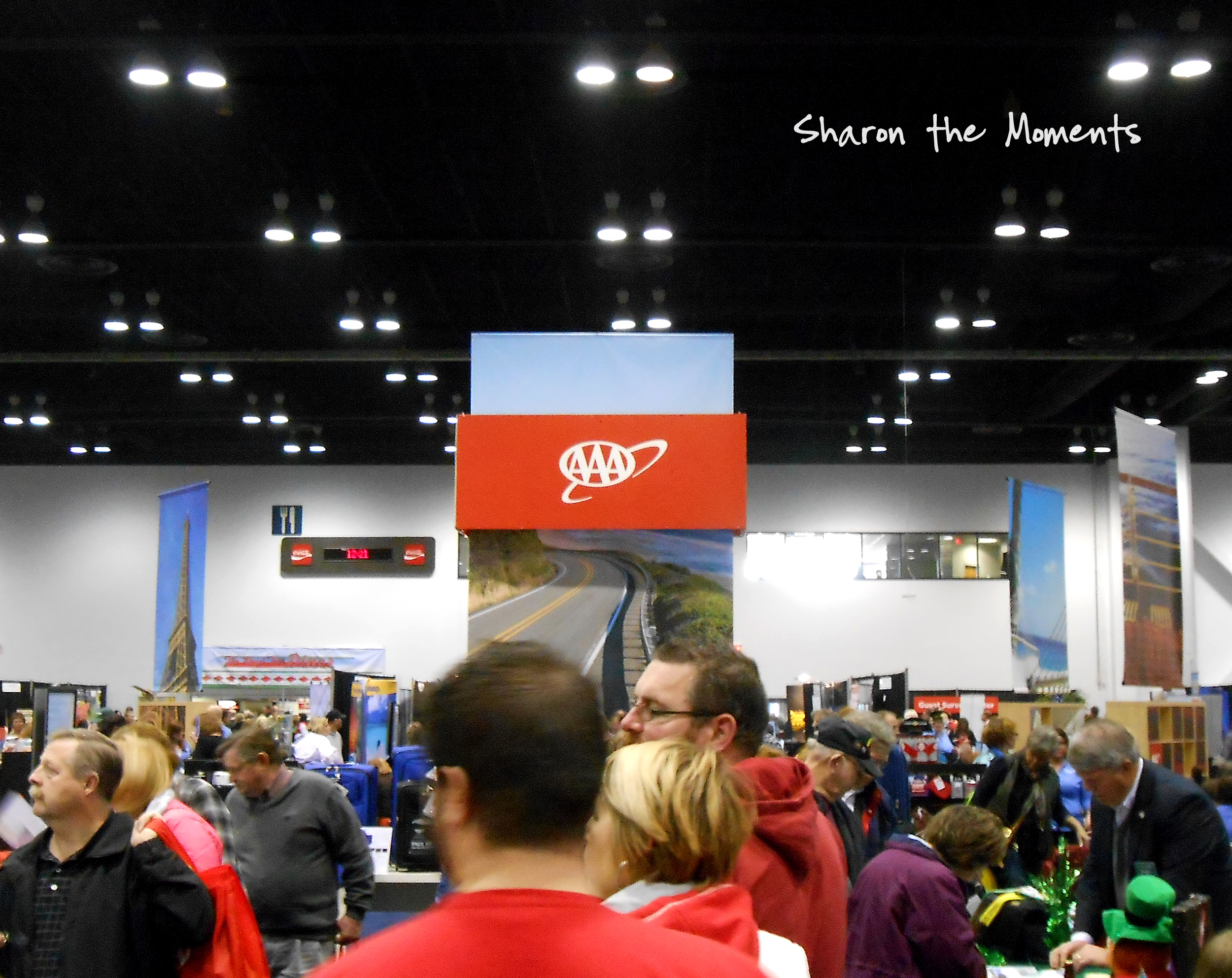 The AAA Vacation & Travel Expo|Sharon the Moments blog