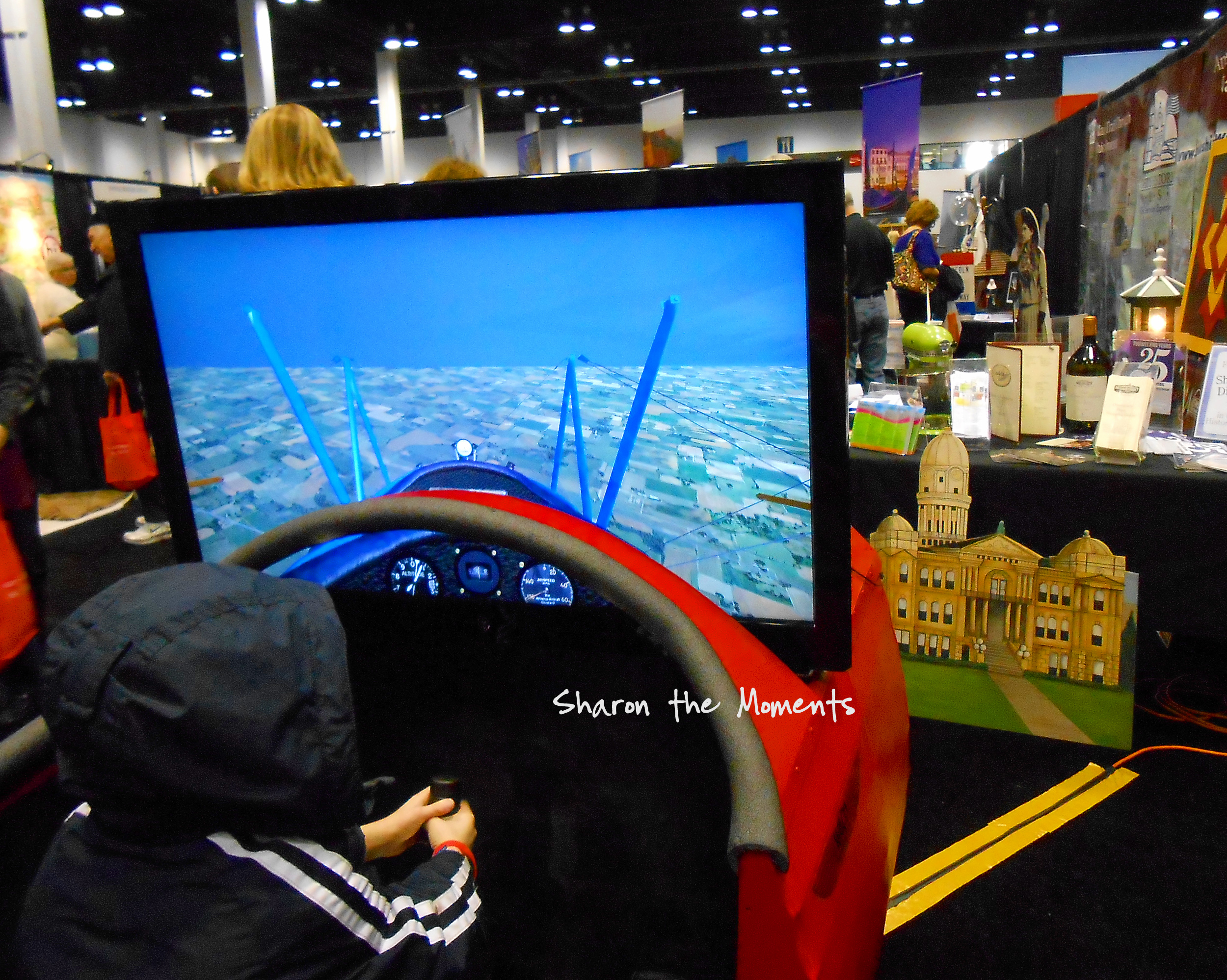 The AAA Vacation & Travel Expo Waco Air Musuem|Sharon the Moments blog