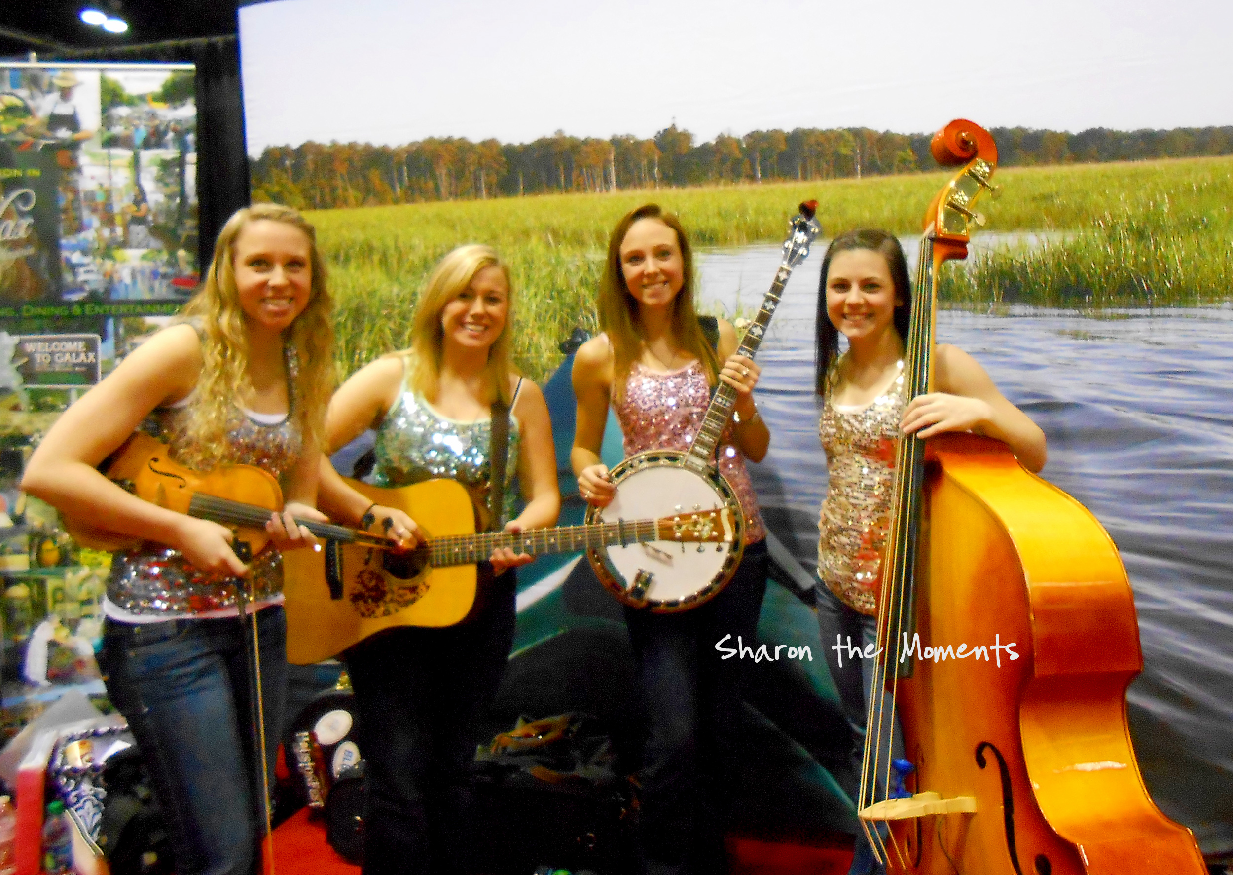 The AAA Vacation & Travel Expo The Loose String Band Galax Virginia|Sharon the Moments blog