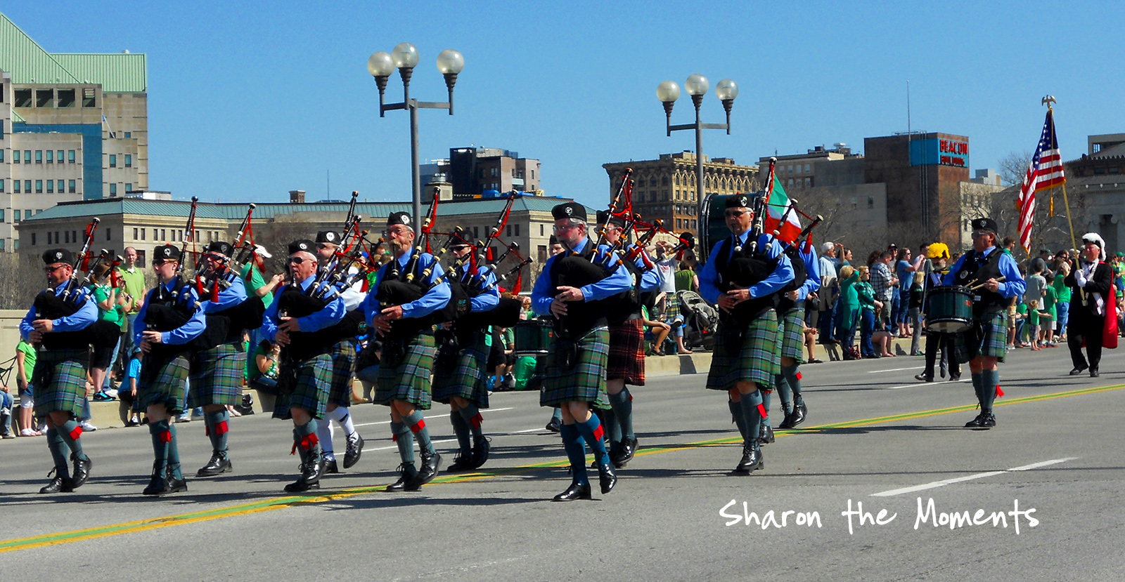 Hodgepodge Wednesday St Patricks Day with the Shamrock Club of Columbus Parade|Sharon the Moments blog