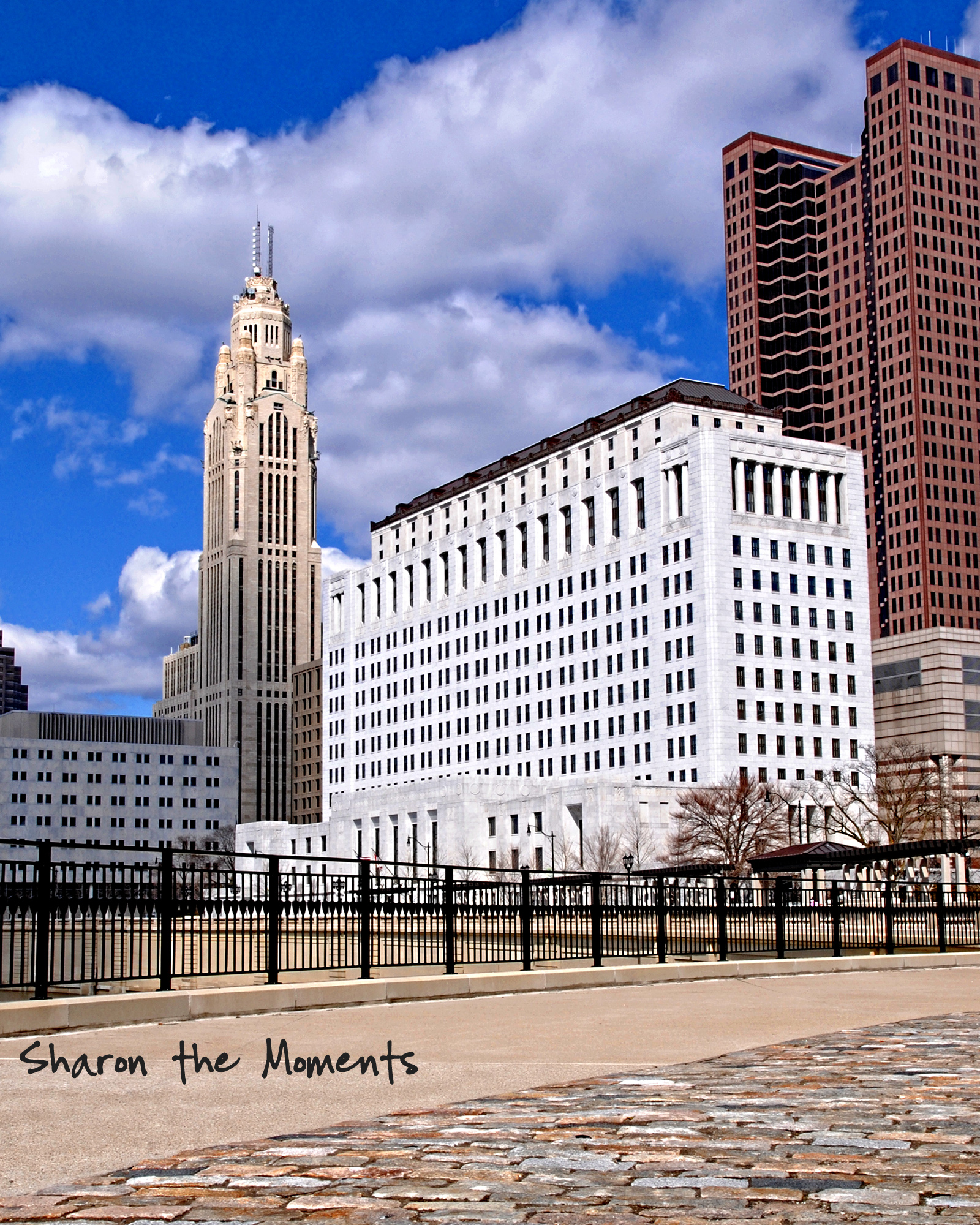 Monday Monday Spring Downtown Columbus Ohio Scioto Mile|Sharon the Moments blog