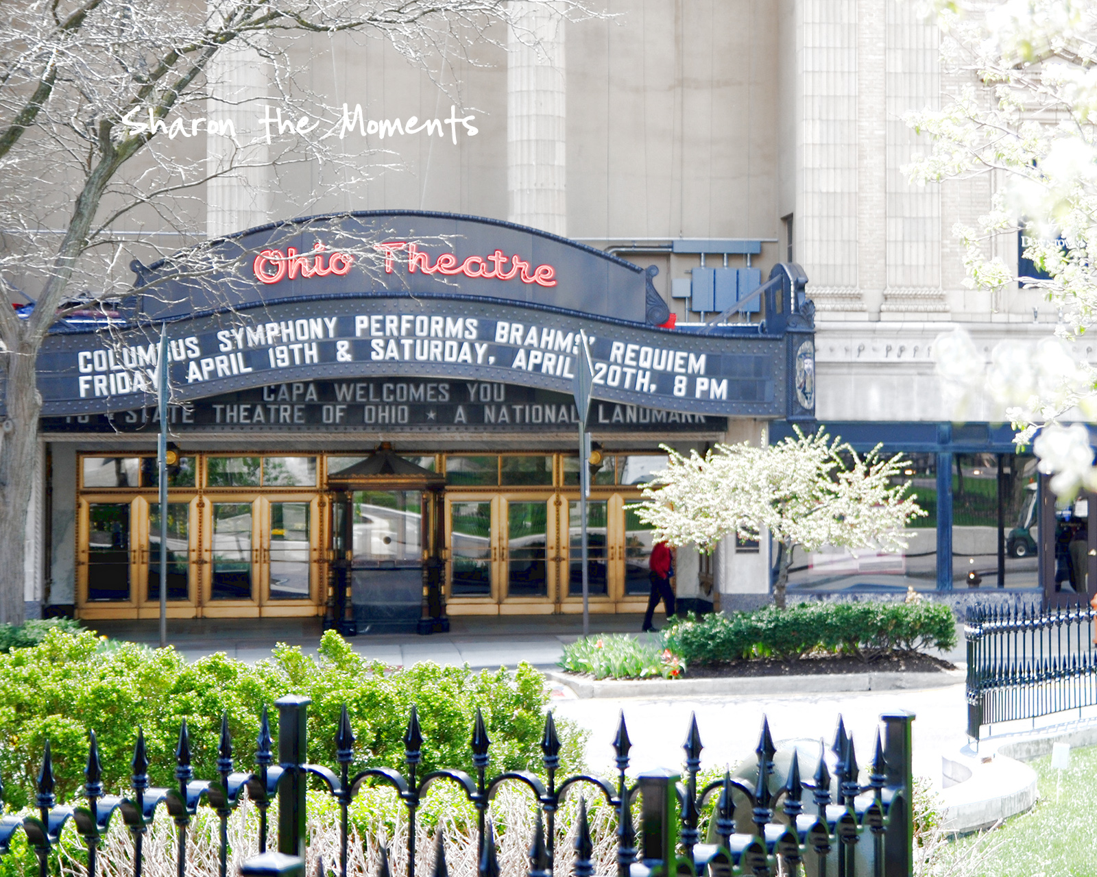 Favorite Photo Friday Ohio Theater Downtown Columbus Ohio|Sharon the Moments blog