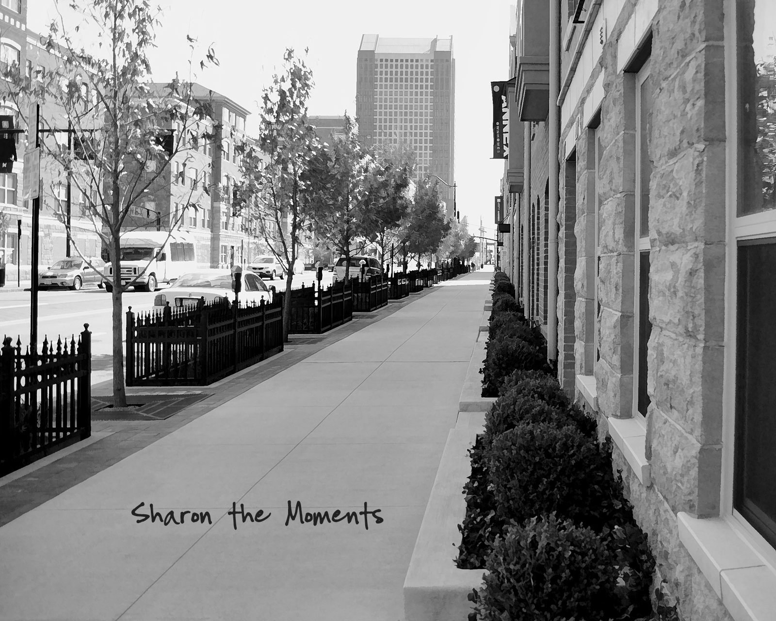 Monday Monday Spring Downtown Columbus OH The Annex Front Street|Sharon the Moments blog