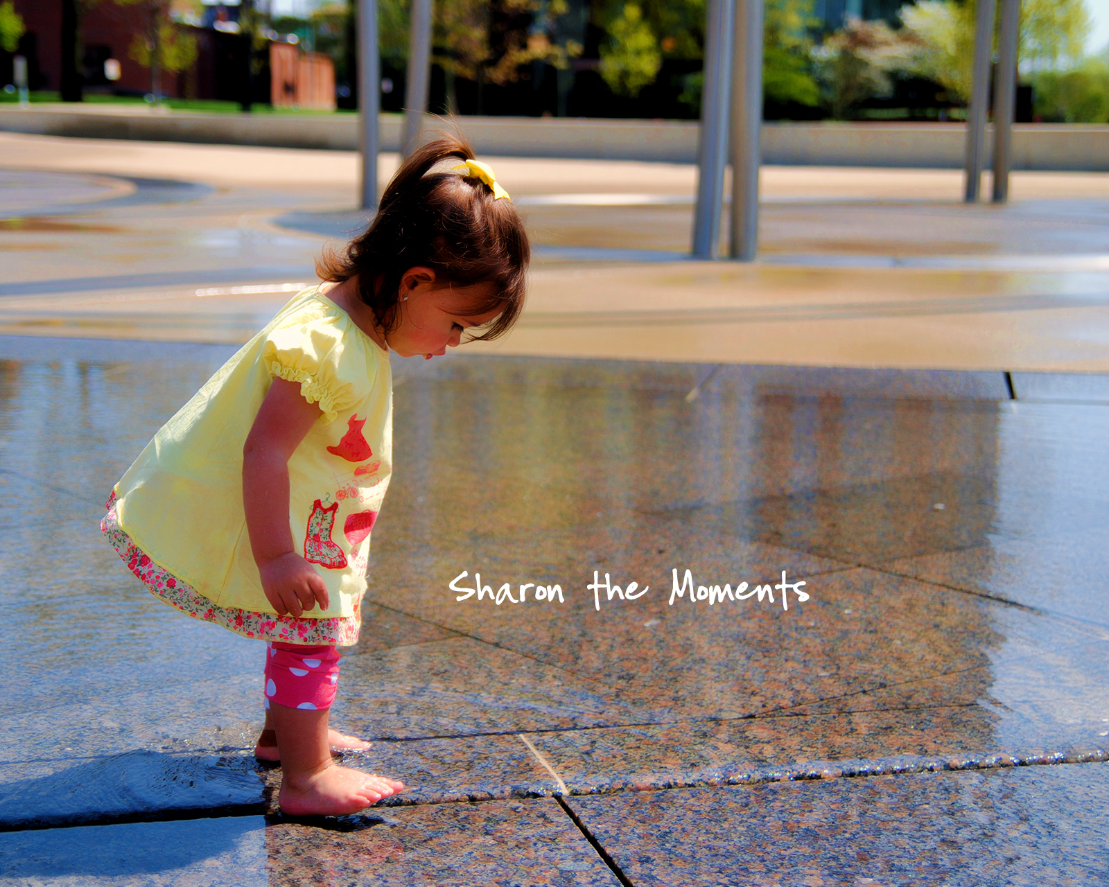 Monday Monday Spring Scioto Mile Fountains Downtown Columbus Ohio|Sharon the Moments blog