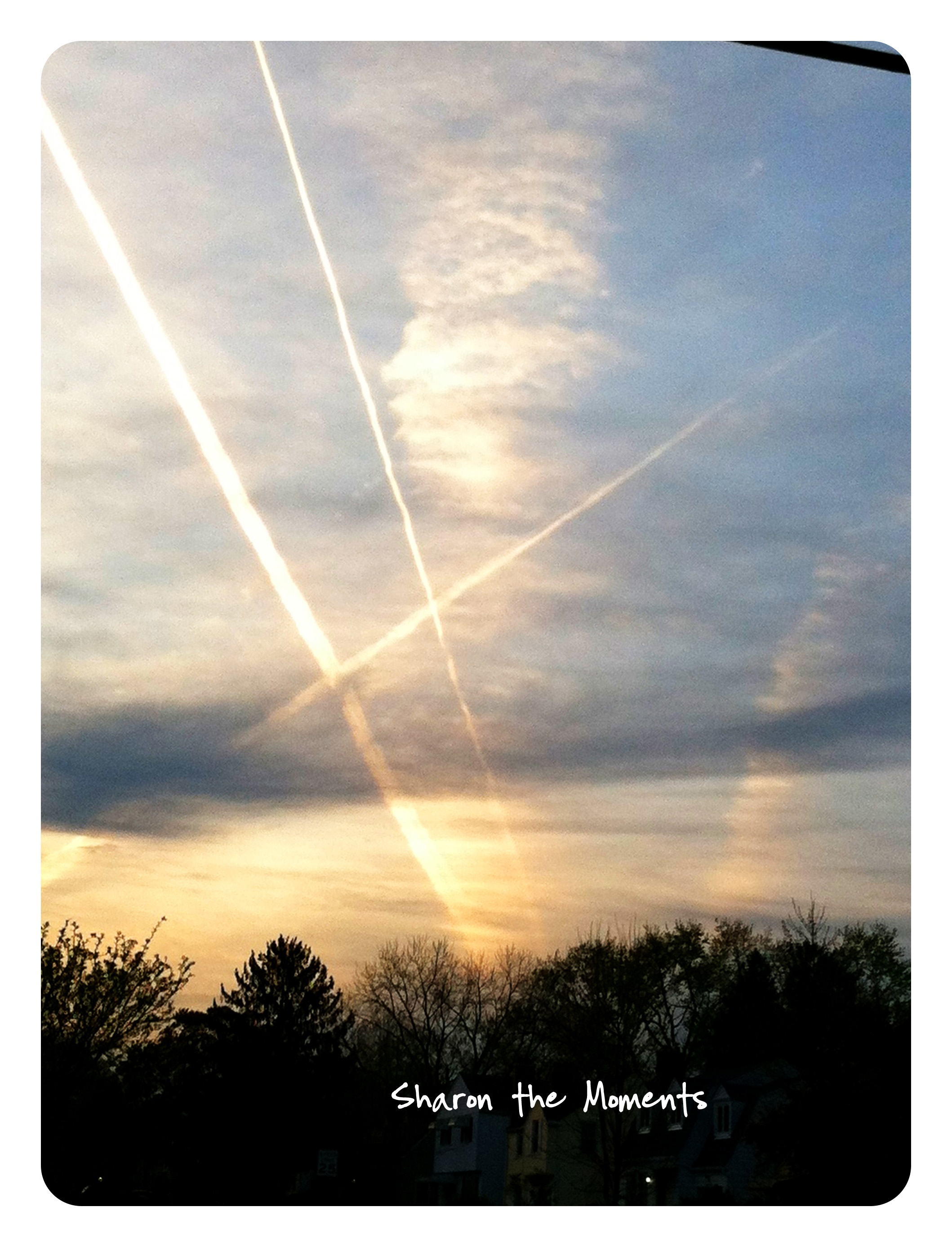 Cloud Art and Sunset in Columbus Ohio|Sharon the Moments blog