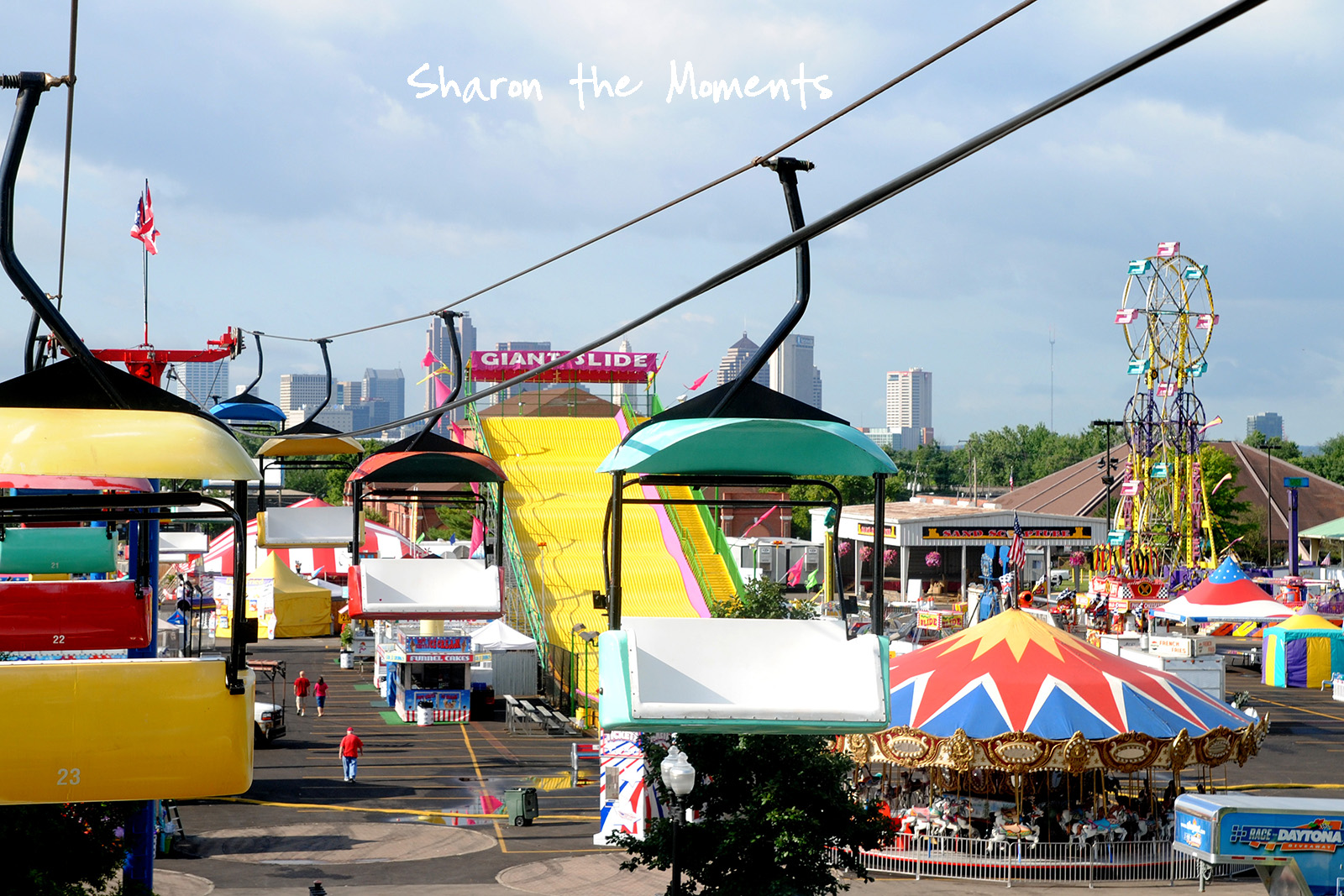 Ohio State Fair Sky Glider Fond Memories|Sharon the Moments blog