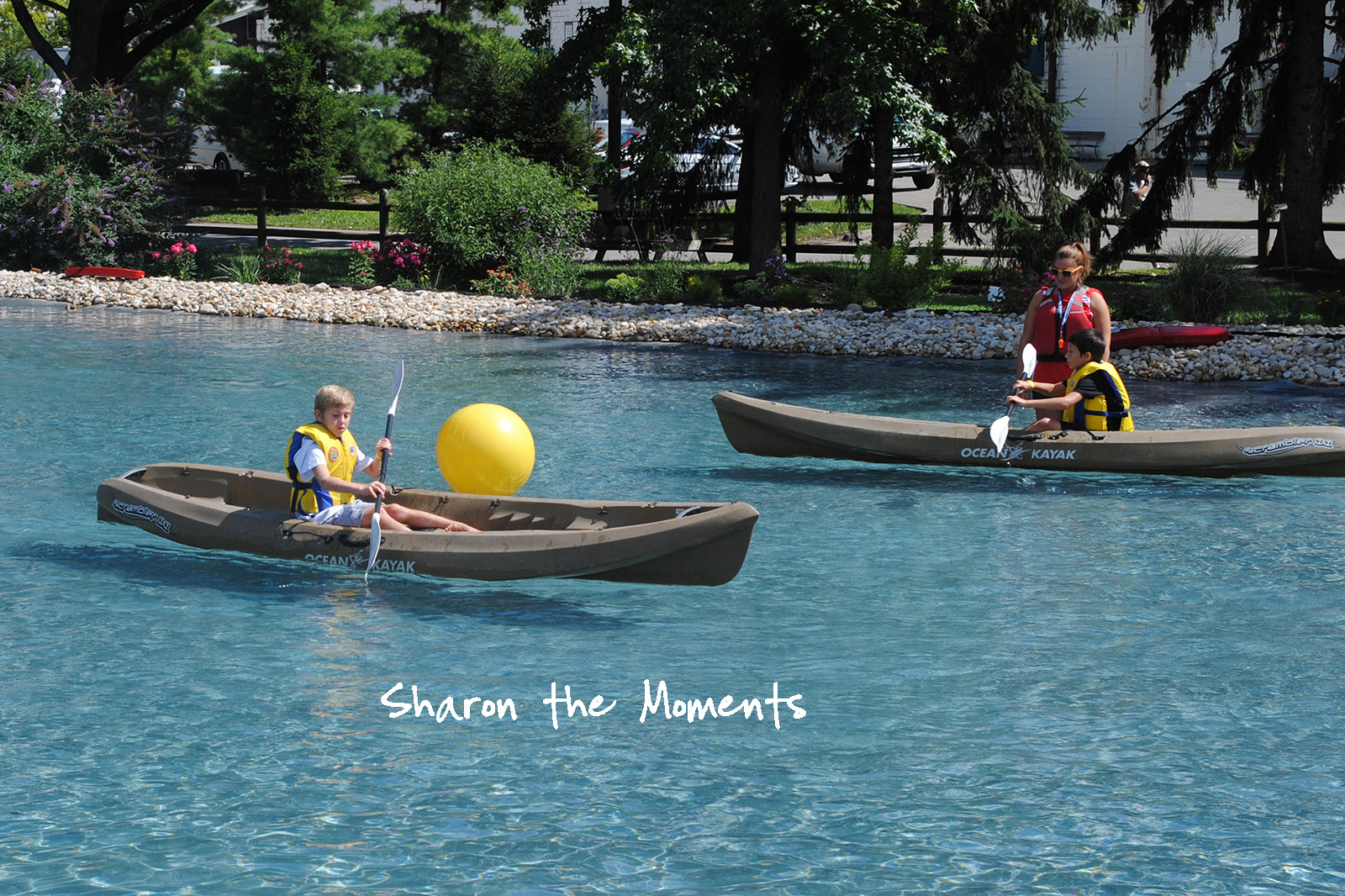 Ohio State Fair Dept of Natural Resources Kayaking Fond Memories|Sharon the Moments blog