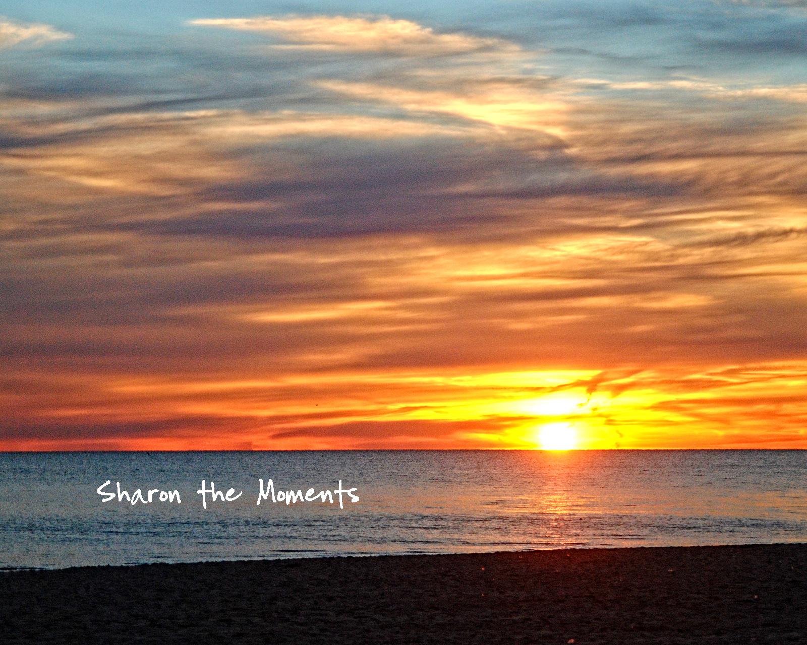 Lake Erie Shores & Islands Cedar Point Sandusky Ohio Sunrise|Sharon the Moments blog