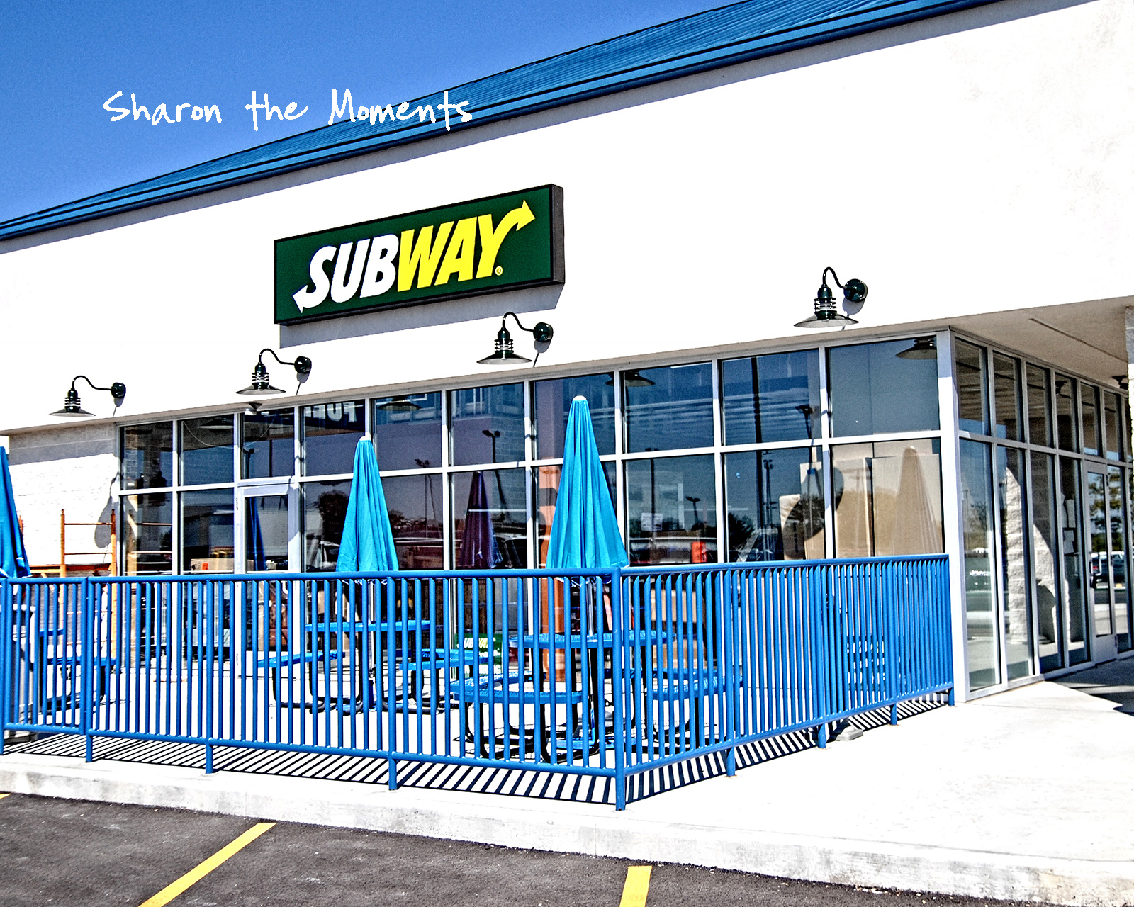 Subway at Blog Event at Ricart Automotive Auto Mall Columbus Ohio .. We're Dealin!|Sharon the Moments blog