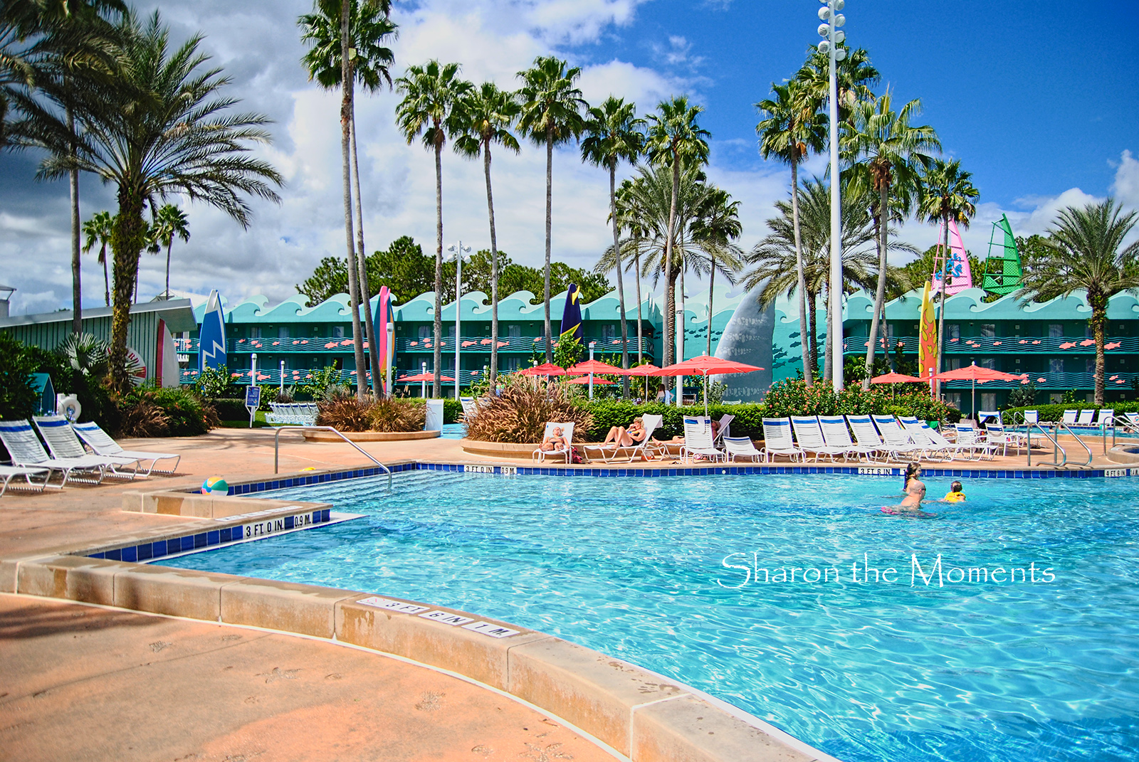 Our October visit to Walt Disney World All Star Sports Resort|Sharon the Moments Blog
