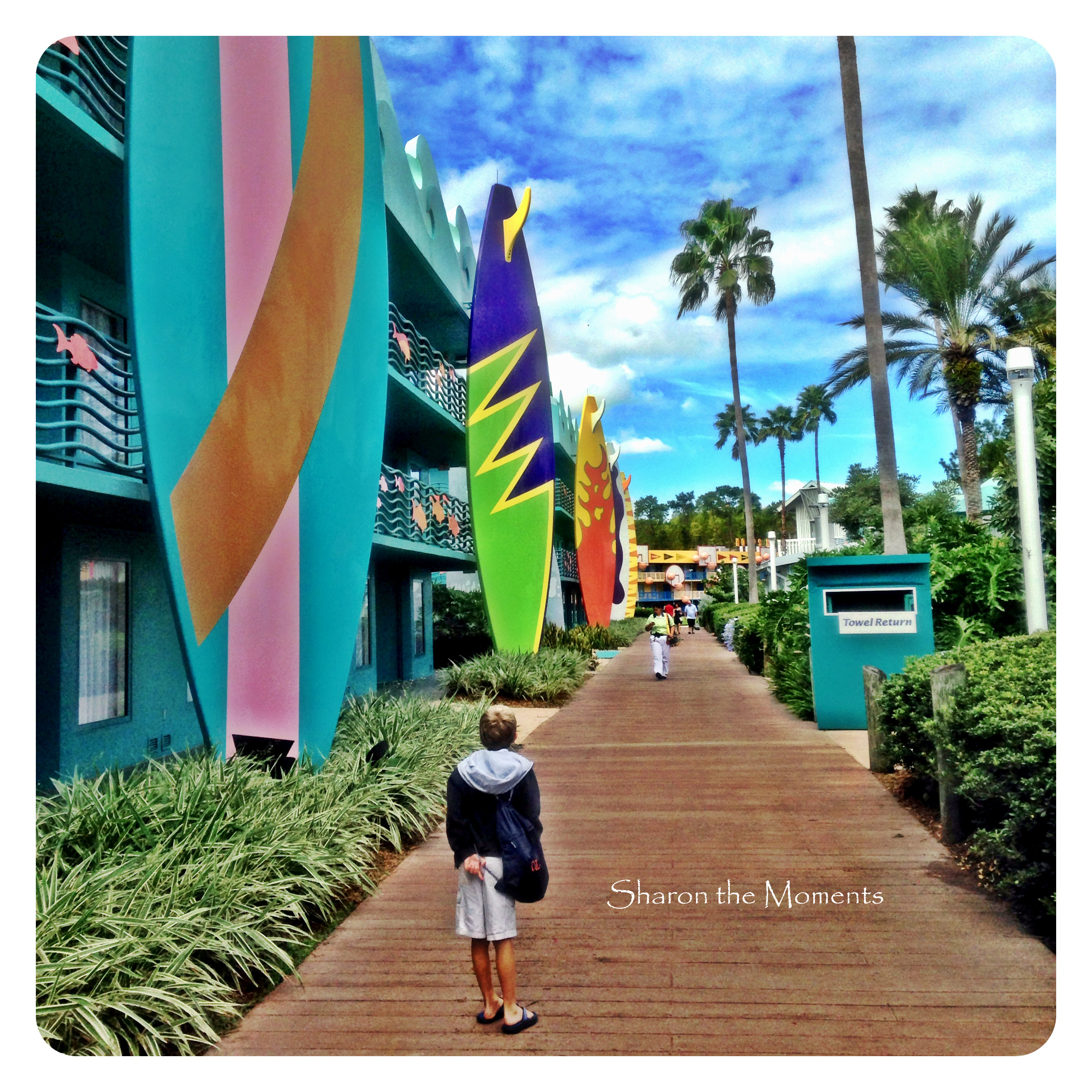 Walt Disney World All Star Sports Resort|Sharon the Moments Blog