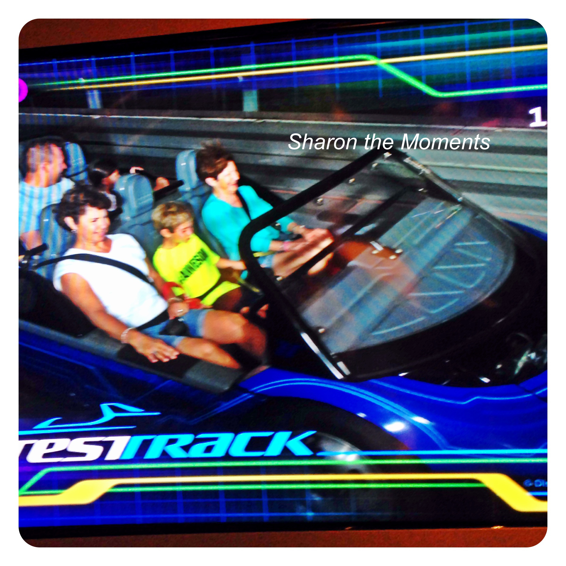Walt Disney World October Visit Test Track Epcot|Sharon the Moments Blog