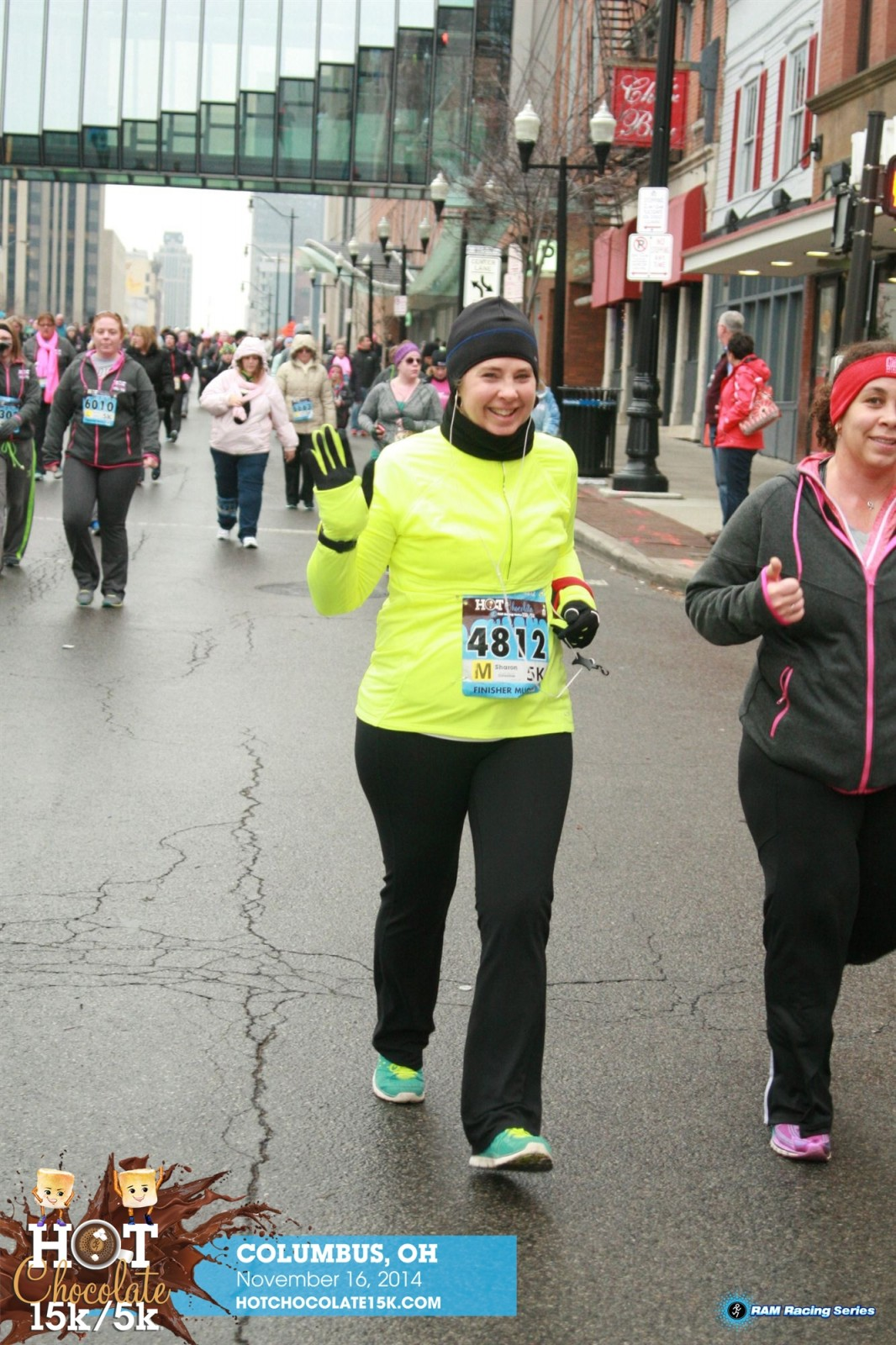 Running the Hot Chocolate 5K|Sharon the Moments Blog