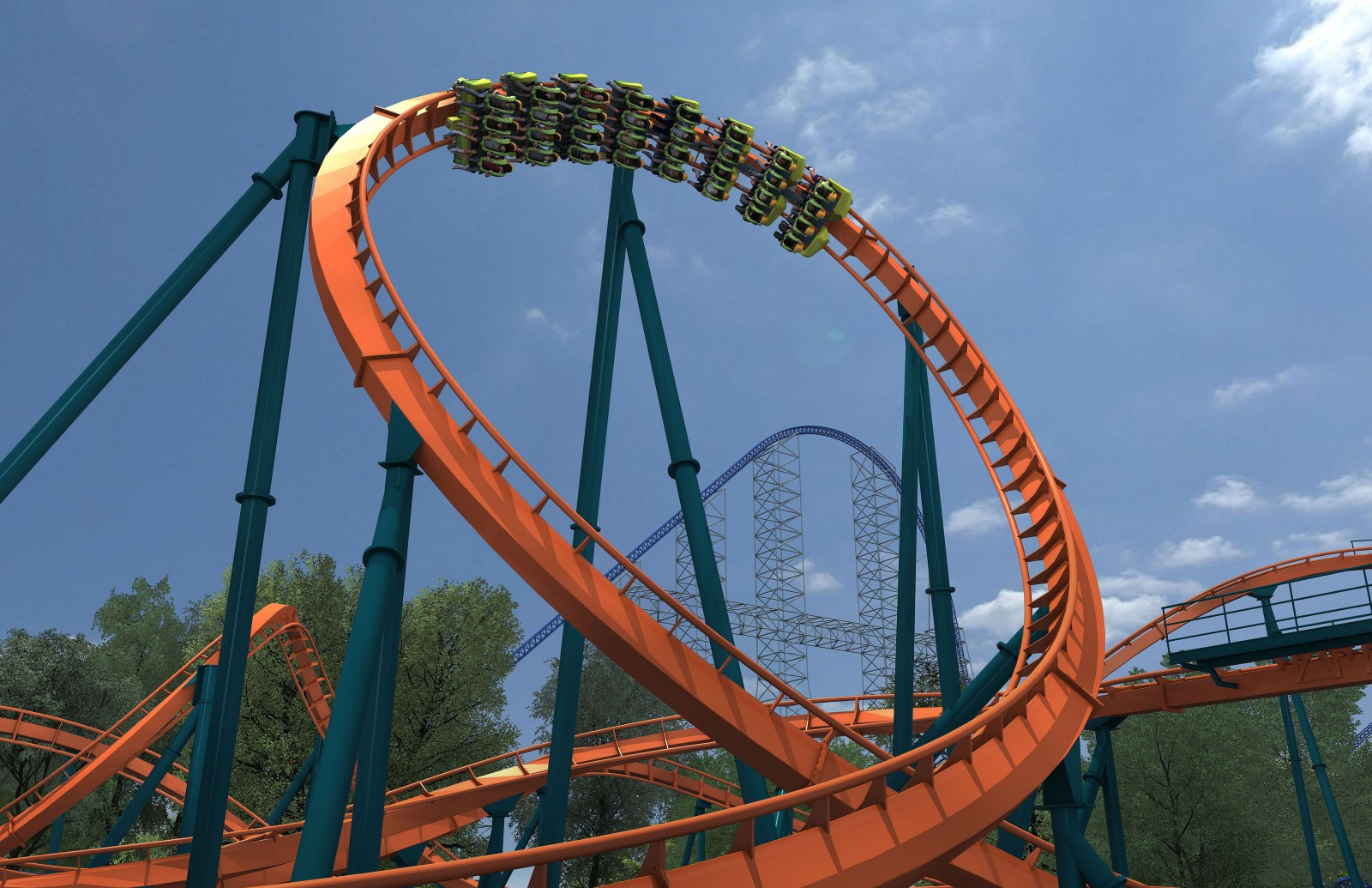 Rougarou Incline Loop (picture courtesy of Cedar Point)|Sharon the Moments Blog