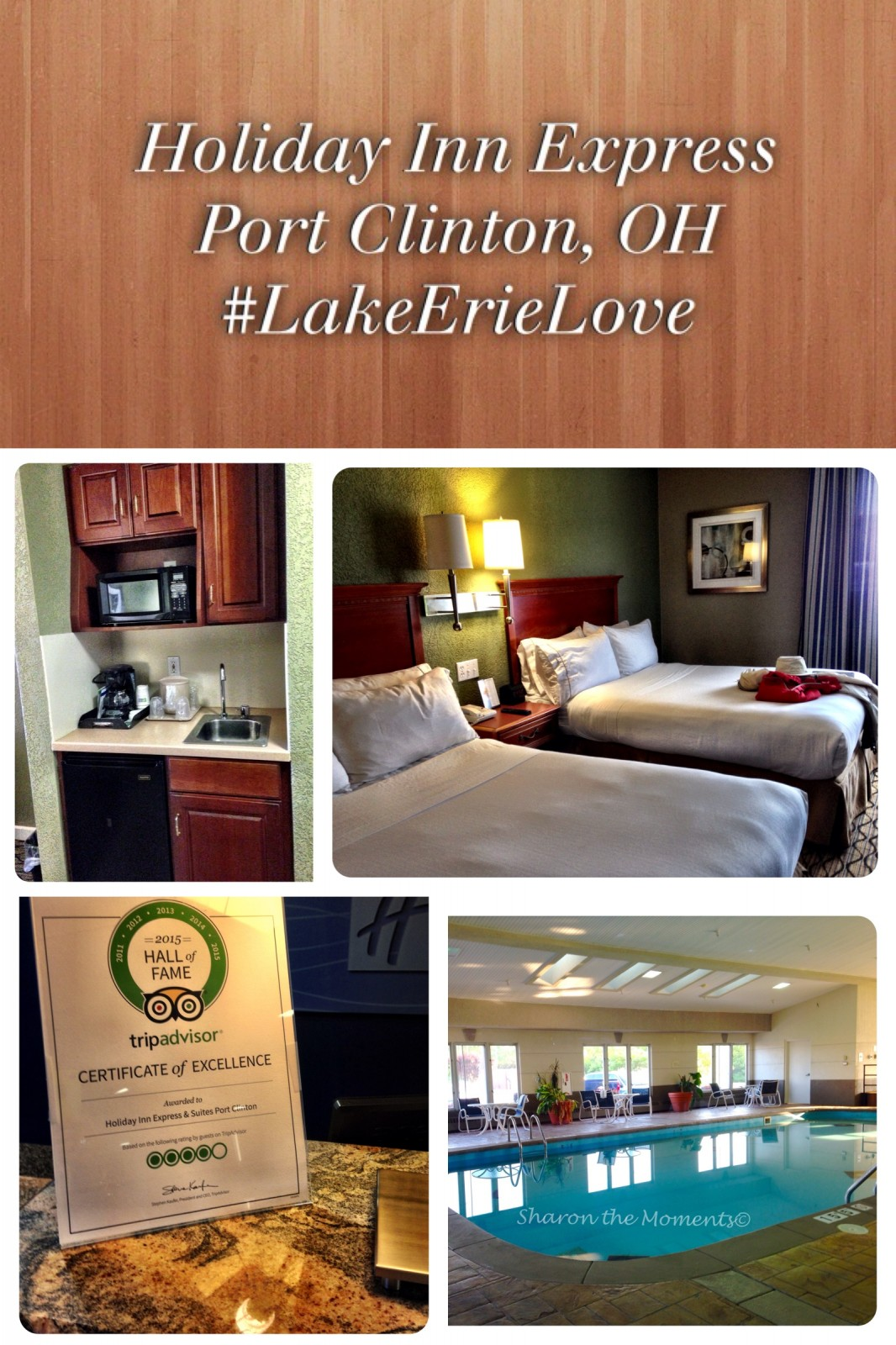 Holiday Inn Express & Suites Port Clinton Catawba Island OH| Sharon the Moments Blog