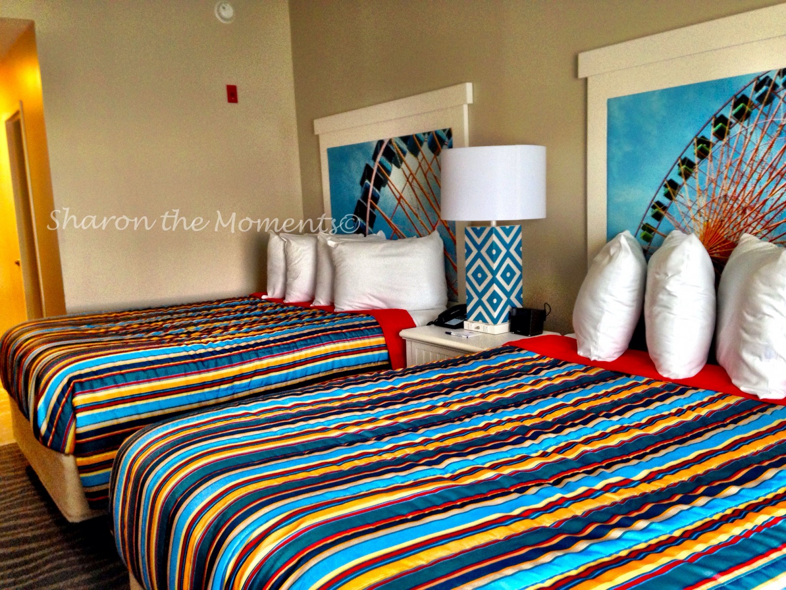 Newly Renovated Hotel Breakers at Cedar Point Ohio| Sharon the Moments Blog
