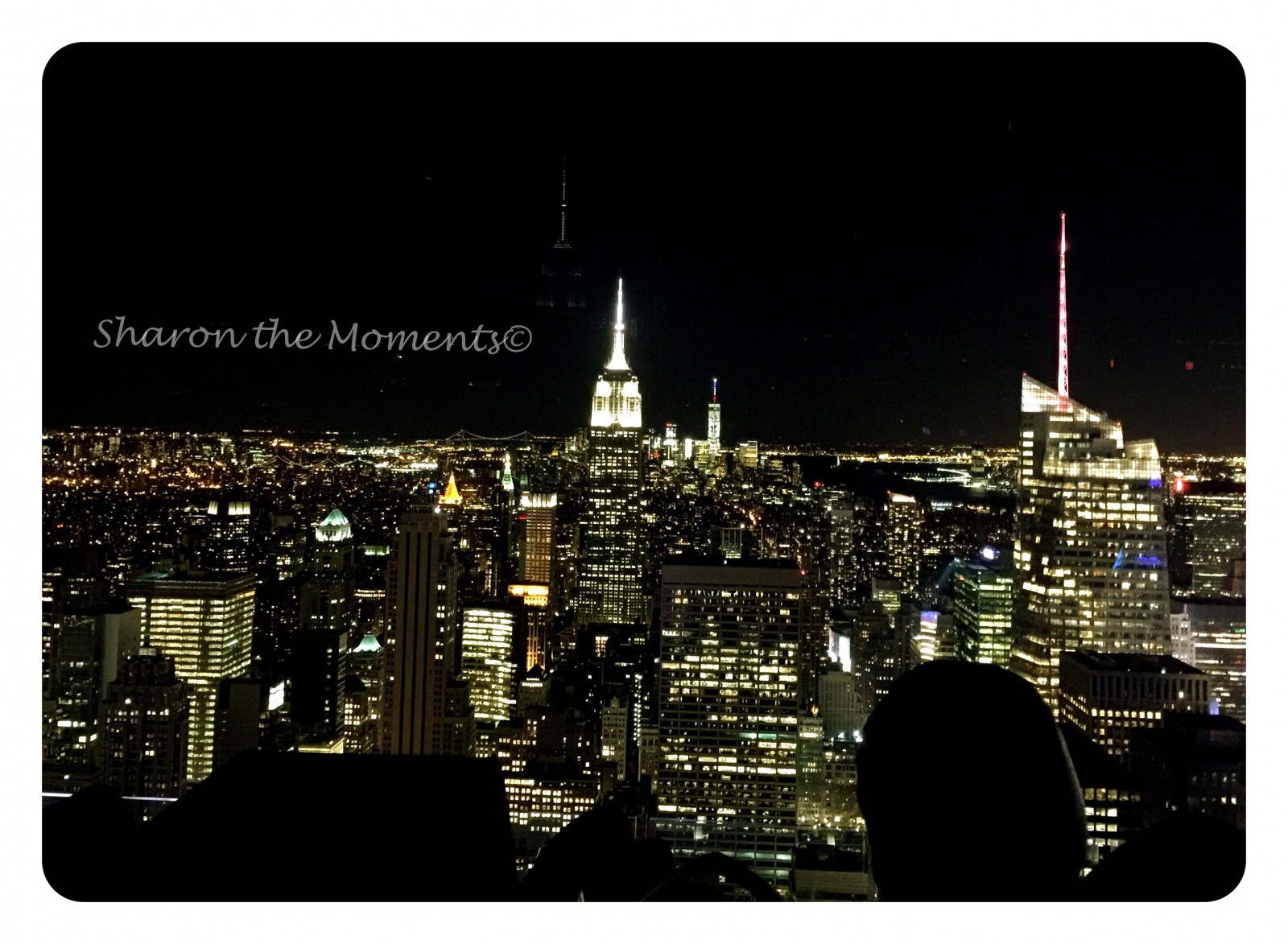 Top of the Rock and Rockefeller Center in New York City| Sharon the Moments Blog