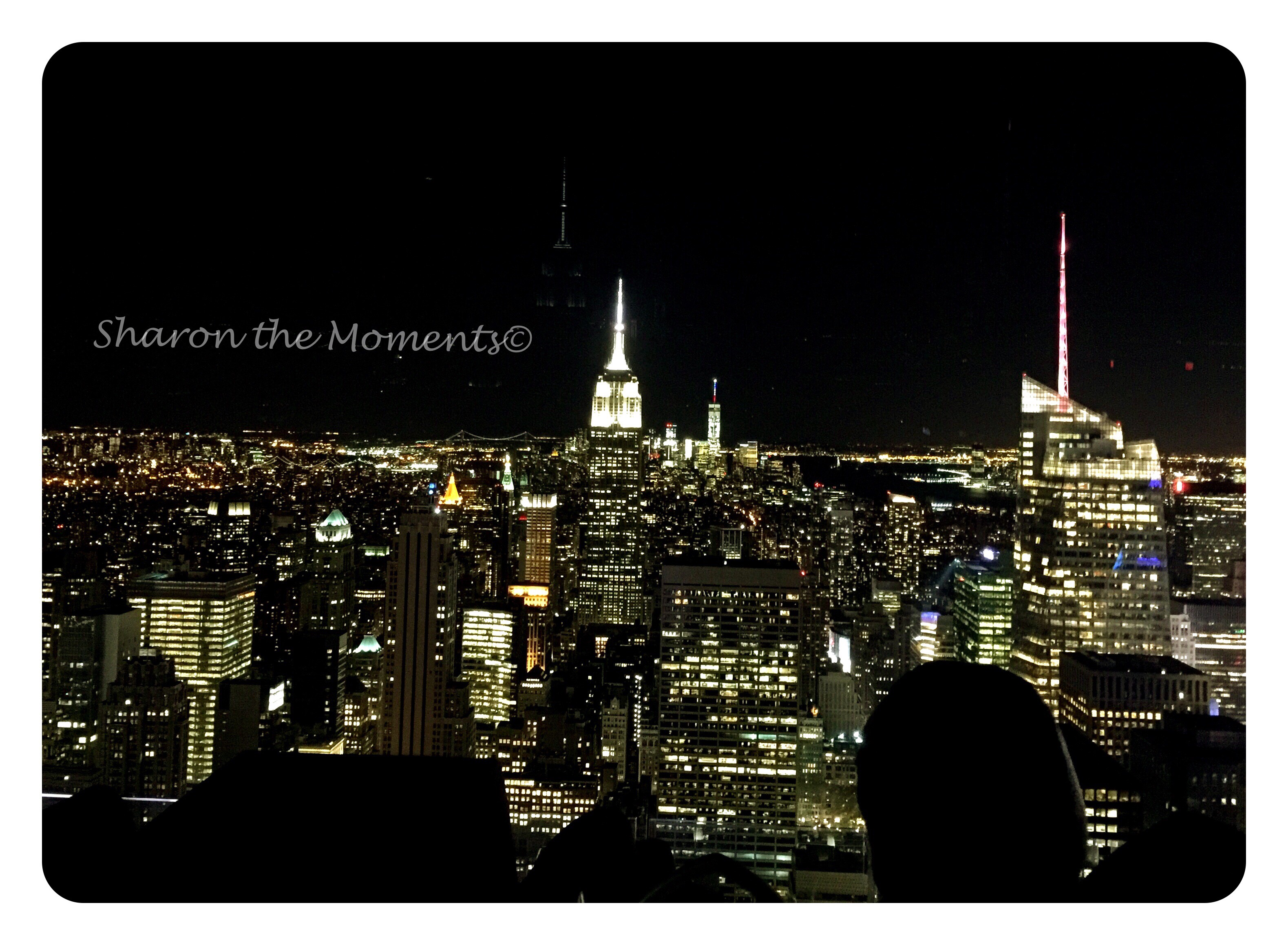 Top of the Rock and Rockefeller Center in New York City