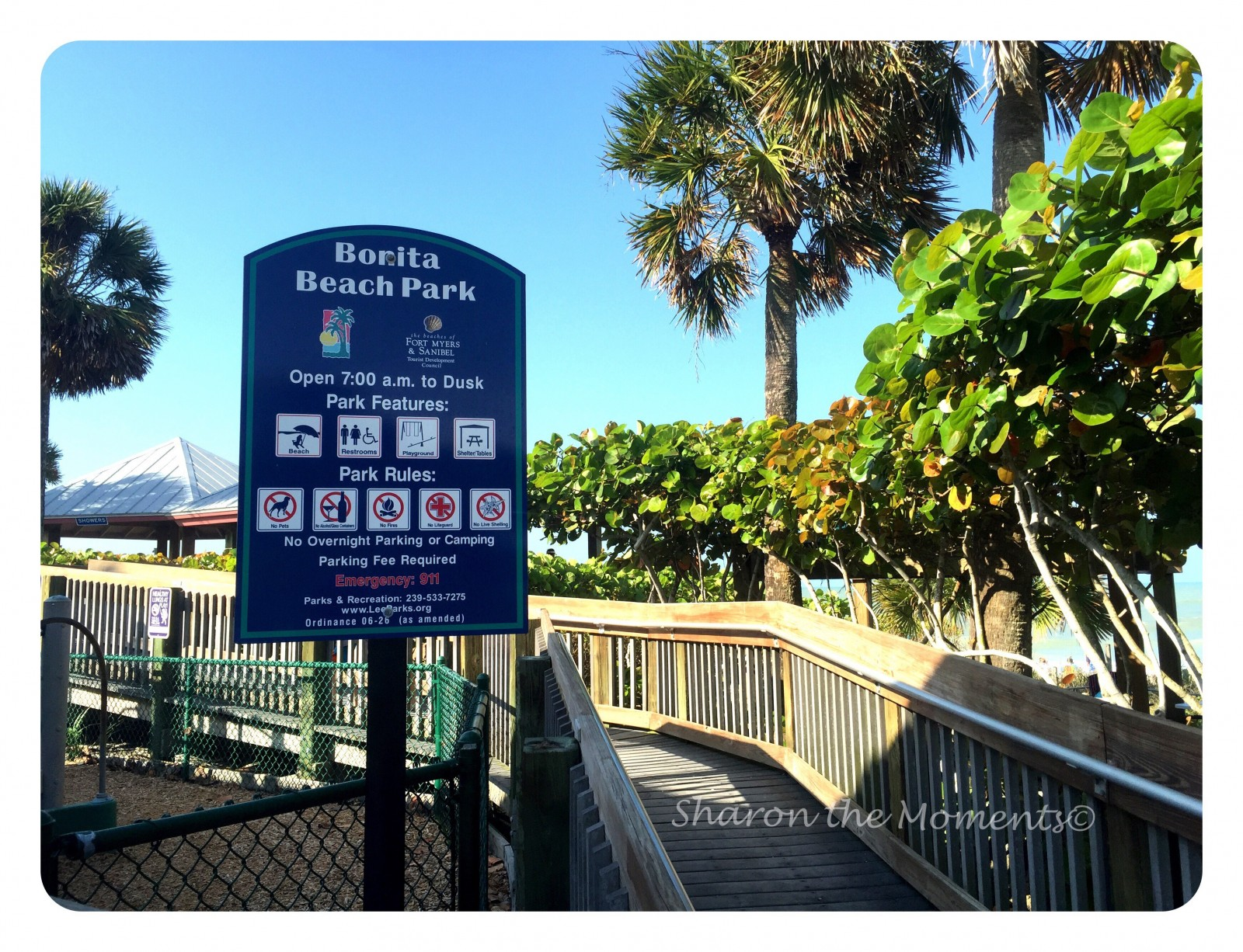 Bonita Beach Park | Sharon the Moments Blog