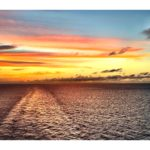 Sunset in the Atlantic Ocean || Sharon the Moments Blog